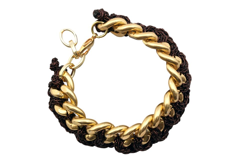 Bracelet chain with strands